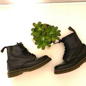 Dr Martens Air Wair Black Combat Boots 38